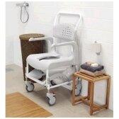 Dušo - tualeto kėdė su ratukais, nuoma