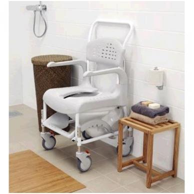 Dušo - tualeto kėdė su ratukais