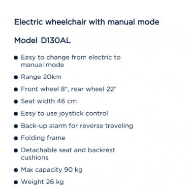Elektrinis vežimėlis 9